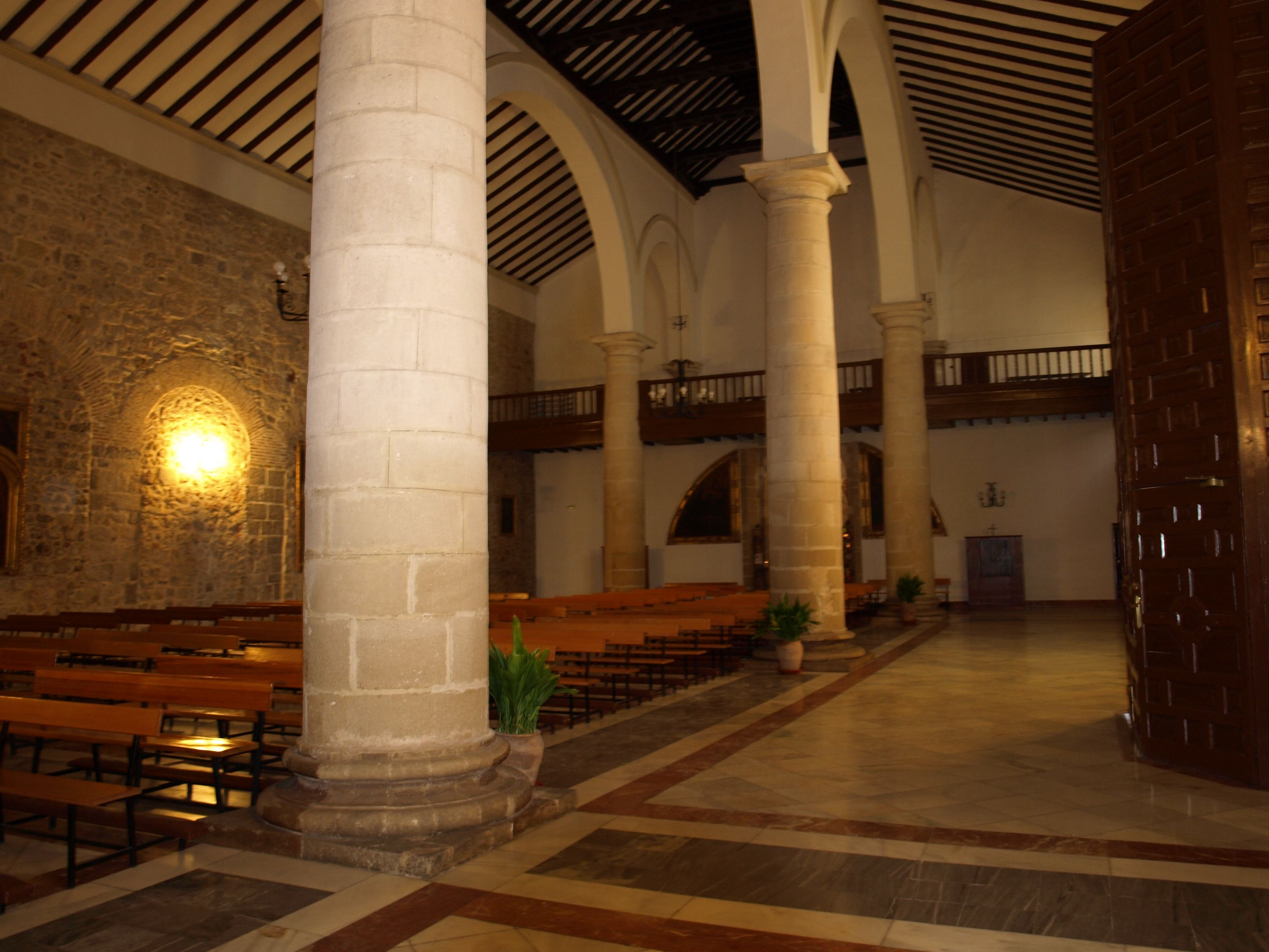 panoramica de la iglesia de Santa Marta