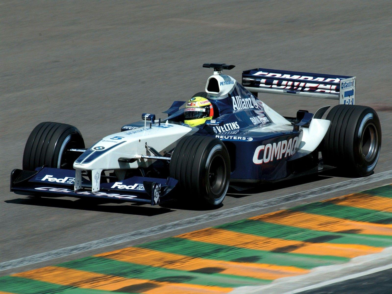 2002 Williams FW24  BMW Ralf Schumacher  2002 Formua 1