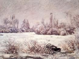 MONET. Escarcha. 1880