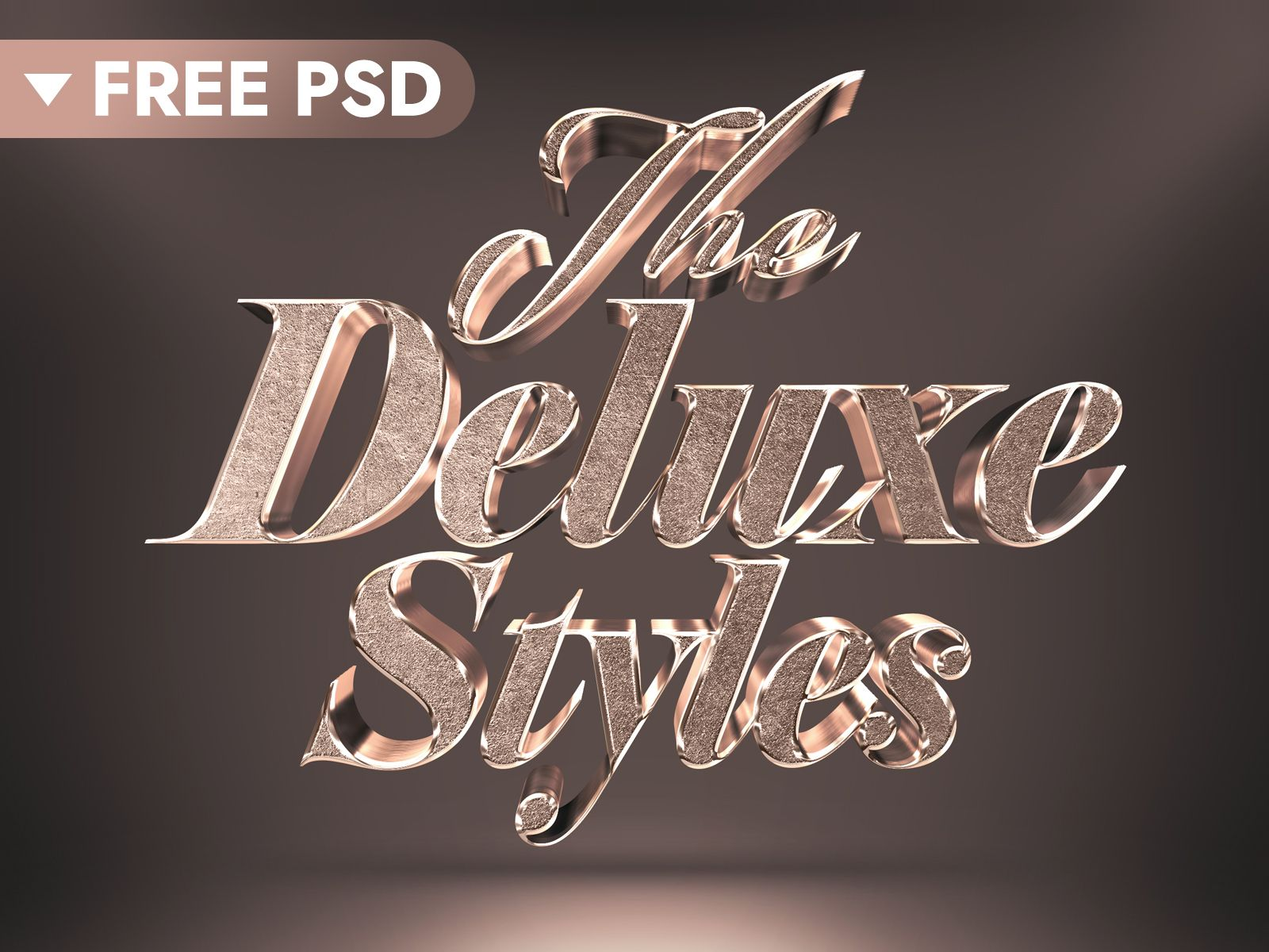 Free Download 3d Bronze Text Effect Text Effects Text Free