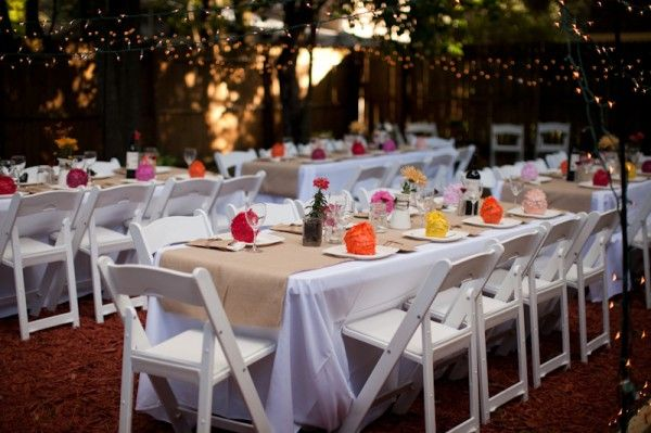 A Backyard Wedding Celebration