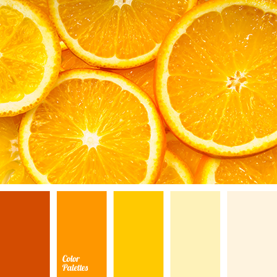 bright orange, bright shades of orange, color of orange, dark orange,  interior. Orange Color PalettesOrange InteriorYellow ...