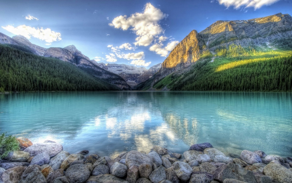 Wallpaper 1920x1200 Px Forest Lake Landscape Mountain Nature Rock 1920x1200 1075691 Hd Wal Hd Nature Wallpapers Beautiful Nature Nature Wallpaper