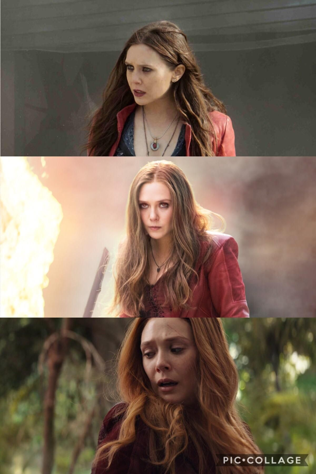 In The Mcu Scarlet Witchs Hair Changes From Dark To Light Referencing Her Characters Arc From Scarlet Witch Marvel Scarlet Witch Elizabeth Olsen Scarlet Witch