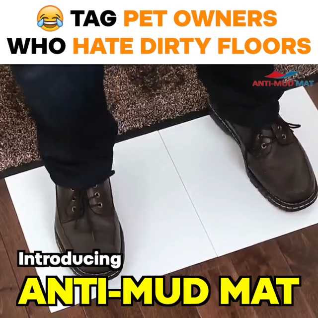 1 Anti Mess Mat Voted Best Home Utility 2020 Video Video Mud Mat Cleaning Hacks Cool Things To Buy