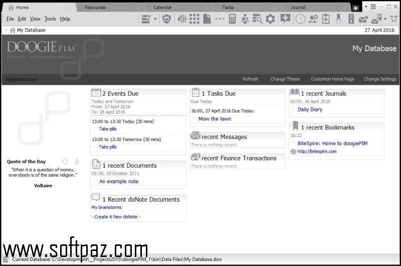 Download doogiePIM setup at breakneck speeds with resume support - resume setup