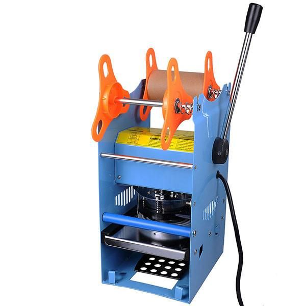 Abs Superior Mini Portable Abs Handheld Heat Sealing Machine Plastic Bag Sealer Seal Tool Store Stylish Kitchen Tools Blue