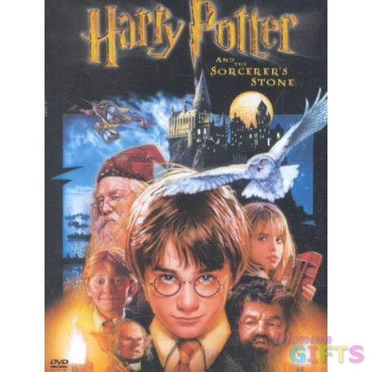 HARRY POTTER & THE SORCERERS STONE (DVD/P&S)-NLA!!!!!!!!!!
