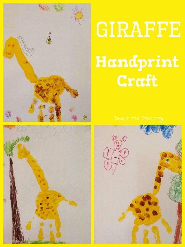 Our Week Wild Animals Theme 1 Giraffe Crafts Animals