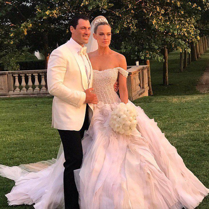 Peta Maks Famous Wedding Dresses Celebrity Wedding Dresses
