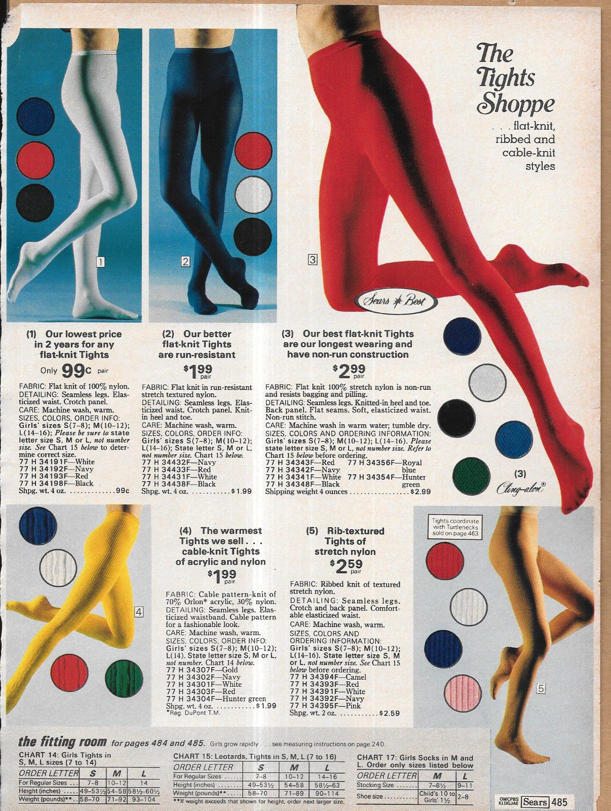 4f9faa27b75 Tiny Lot of Vintage Catalog Hosiery Tights Lingerie Undies Photo Clippings 4