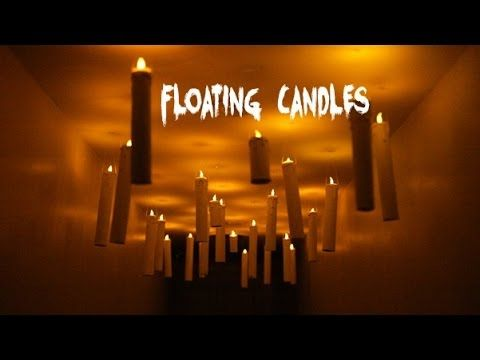 How To Make Floating Harry Potter Candles Starry Sky! Hogwarts Great