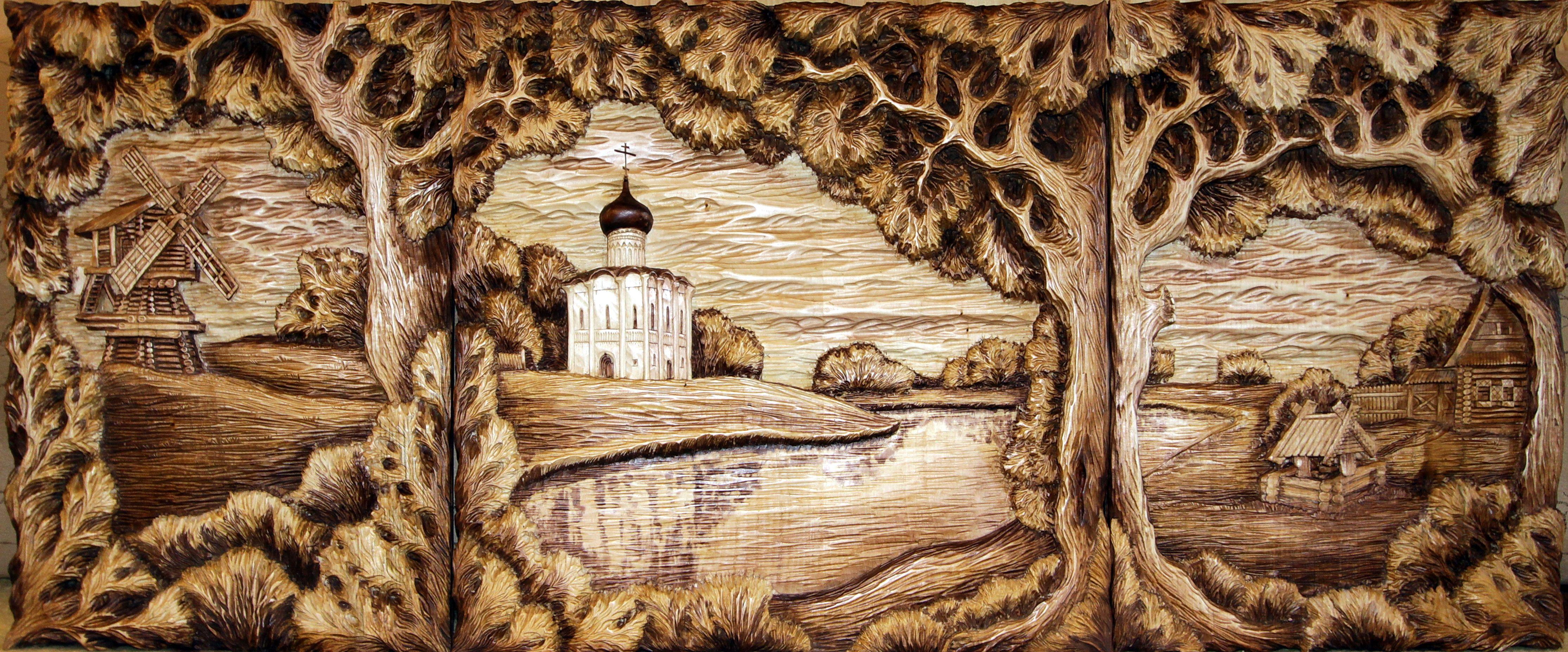 выжигание по дереву картинки славянские преддверии большого