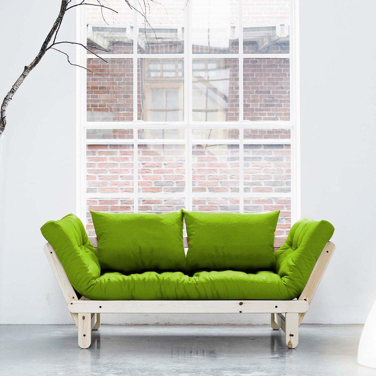 Green Futon   For the Home   Pinterest   Me gustas y Decoración