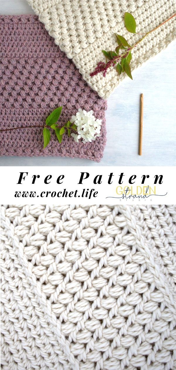 Free Cowl Pattern #crochetstitches