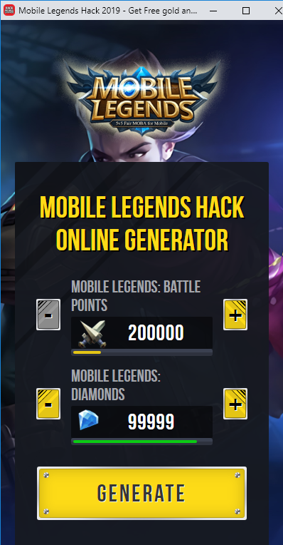 Pin On Mobile Legends Hack Tool