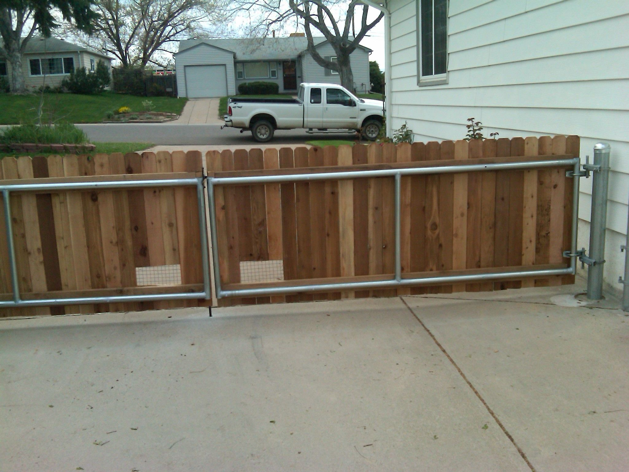 Chain Link Wood Fence Brackets Fence Panels For Sale Wood Fence