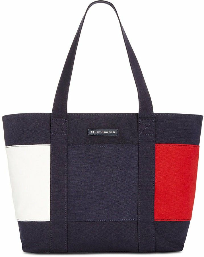 49091b14025 Tommy Hilfiger tote bag ❤❤ | Designer Handbags Purse | Pinterest ...