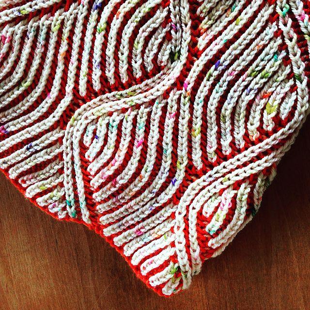 beezee pattern by Katrin Schubert | Brioche, Ravelry and Stitch
