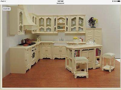 DOLLHOUSE MINIATURE French Kitchen BESPAQ - \