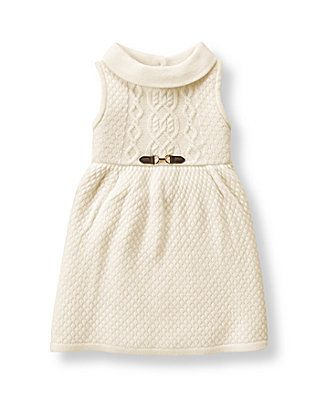 176466c3b8f3 Cable Sweater Dress - Janie and Jack (Countryside Ride)