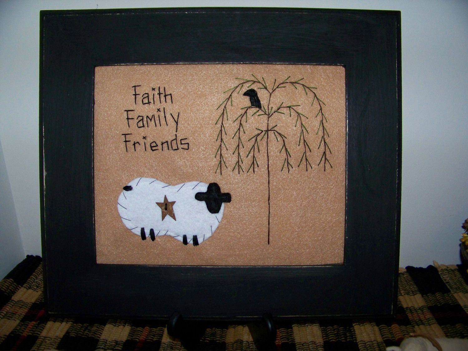 Free Images For Primitive Decor Sheep Picture Crow 8x10