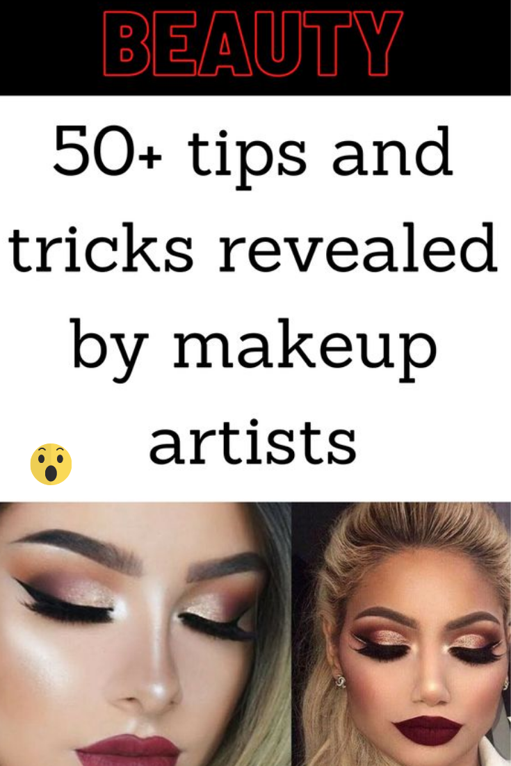50+ tips and tricks revealed by makeup artists