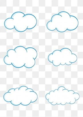 Stick Figure Cloud White Clouds Can Be Commercial Elements Cloud Clipart White Clouds Blue Cloud Png And Vector With Transparent Background For Free Download Cartoon Clouds Clouds White Clouds