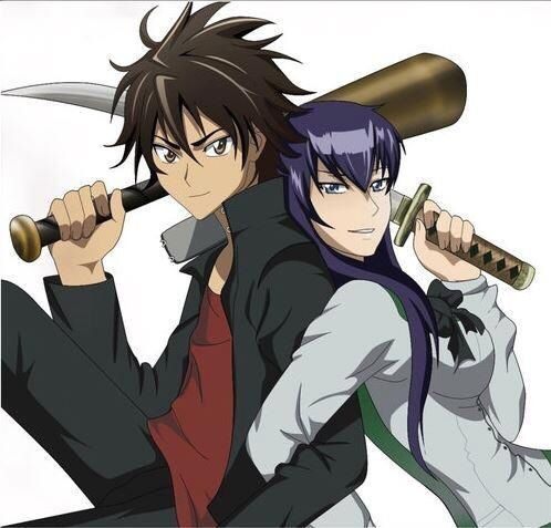 Takashi & Saeko | High School Of The Dead | High shool ...