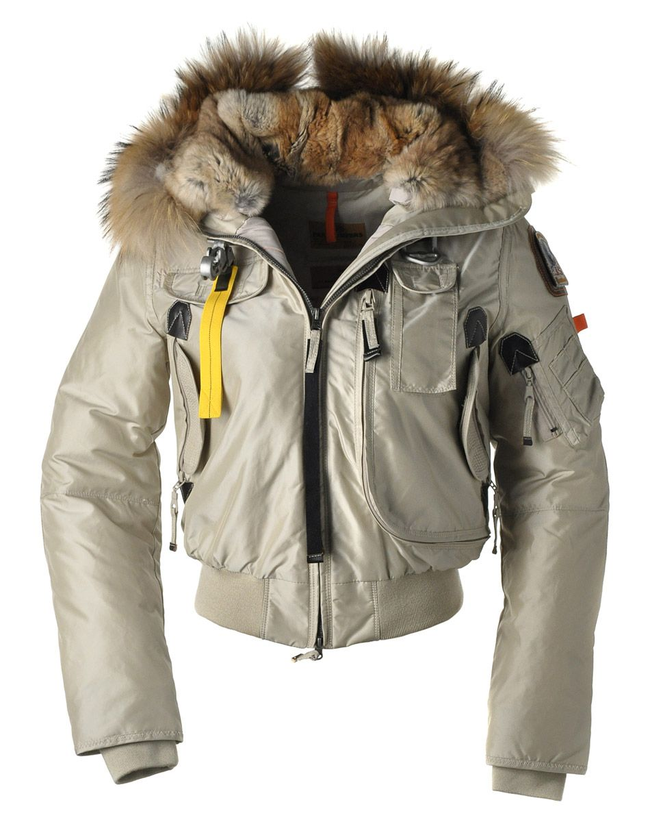 Parajumpers Gobi Women Down Jackets Beige