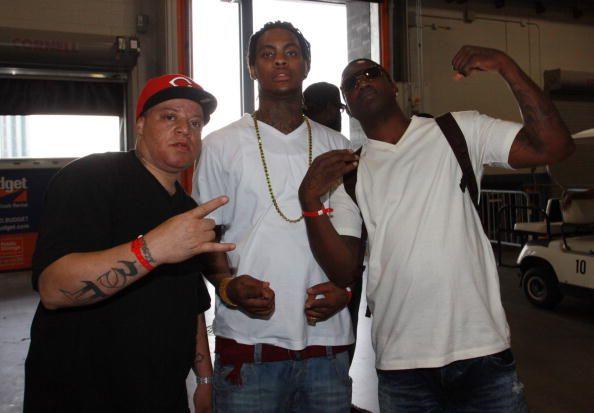 Waka Flocka and Gucci Mane.