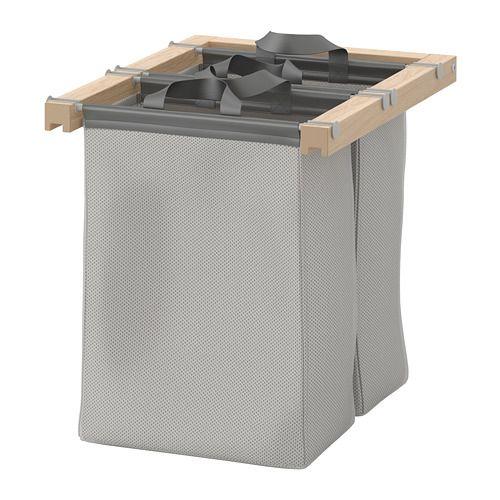 komplement beutel ausziehbar eicheneff wlas einkauf ikea pinterest. Black Bedroom Furniture Sets. Home Design Ideas