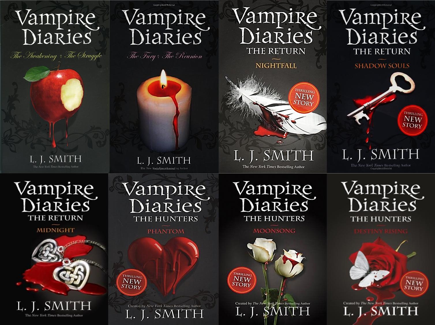 Imagini pentru the vampire diaries books