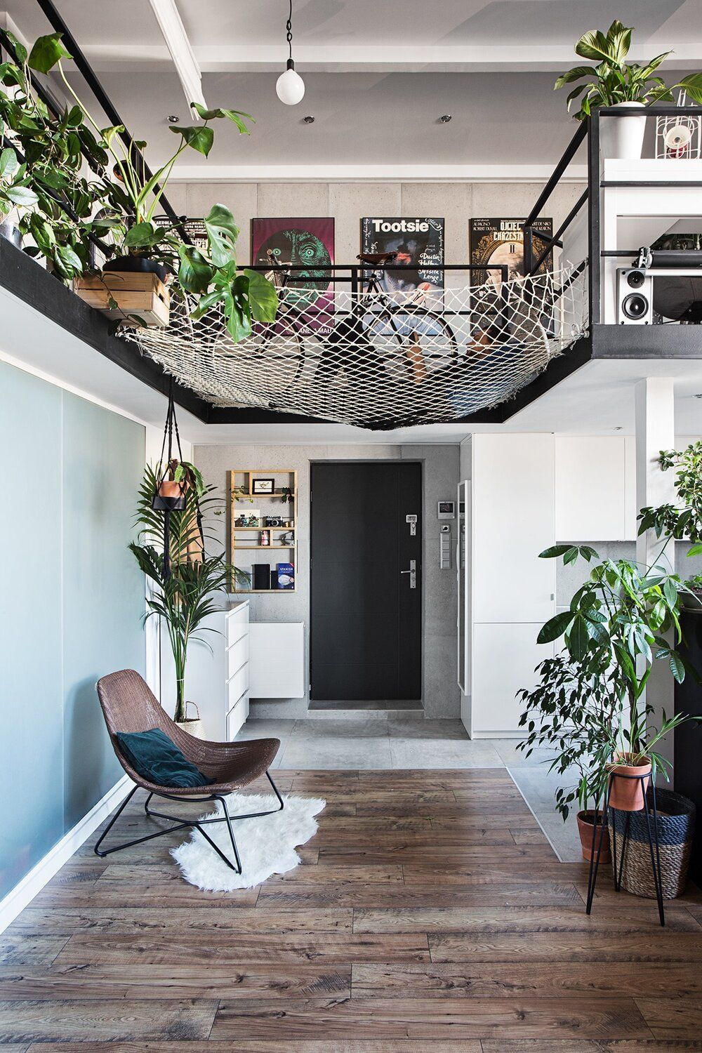 A Creative Loft Apartment in Poland with Exposed Brick and ...