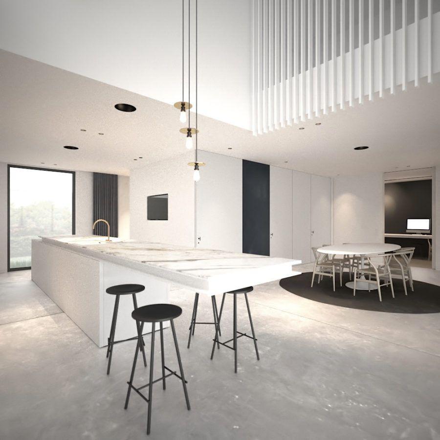 Home-office-innenarchitektur inspiration kochen mit genuss moderne küche fenster ideen  küchen ideen