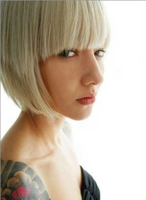 20 Best Bob Hairstyles With Fringe Bob Haircut And Hairstyle Ideas Medium Length Hair Styles Bobbed Hairstyles With Fringe Short Hair Styles