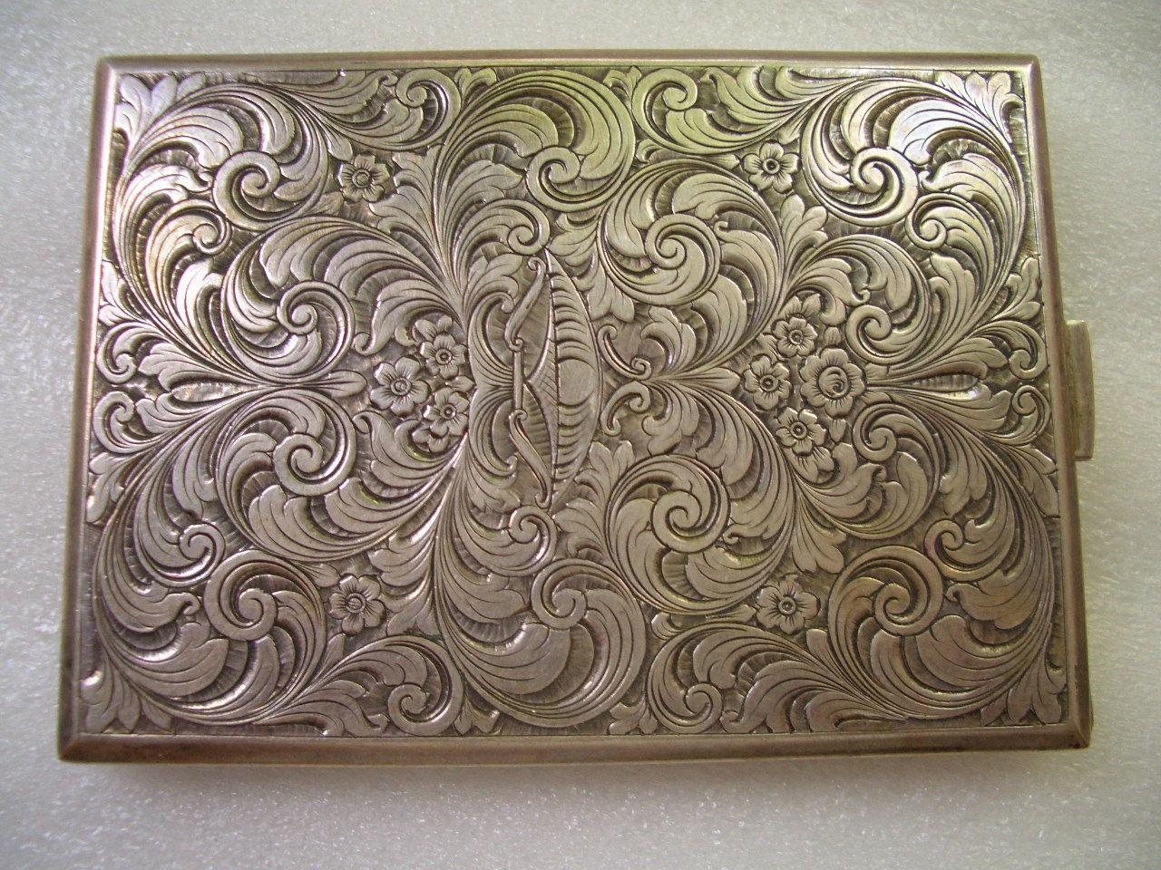 Antique silver engraved case | *Purse & Pocket Pretties: Silver ...