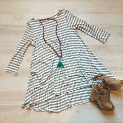 Sisterdale Tunic Dress, - Hill Country Chic