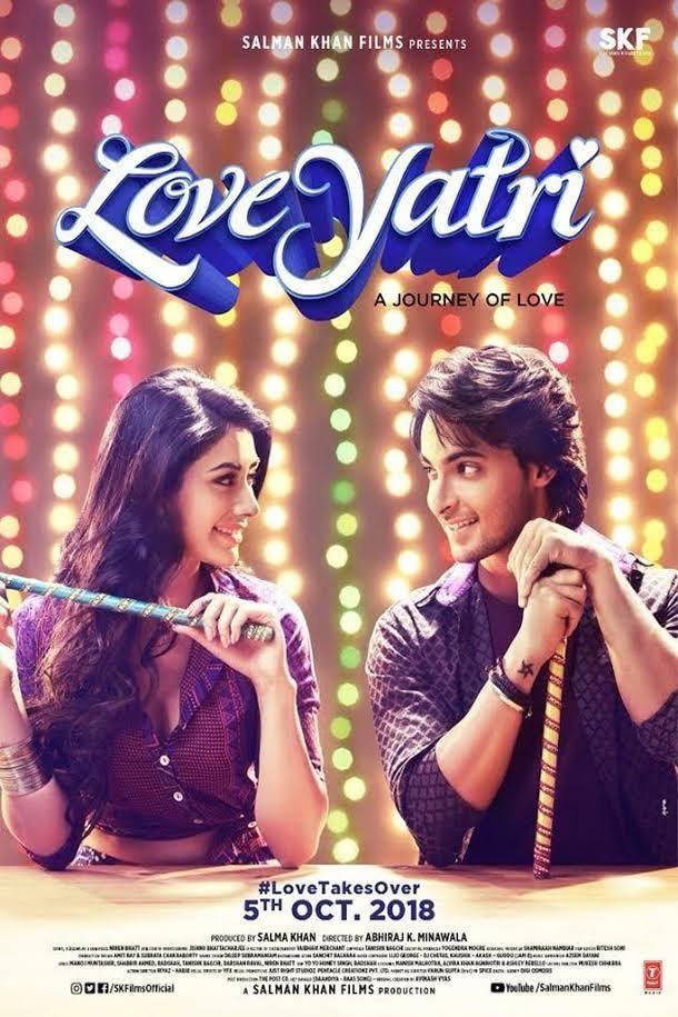 Loveyatri 2018 Hindi Movie PreDVD 480p 400MBIMDB 3.2/10