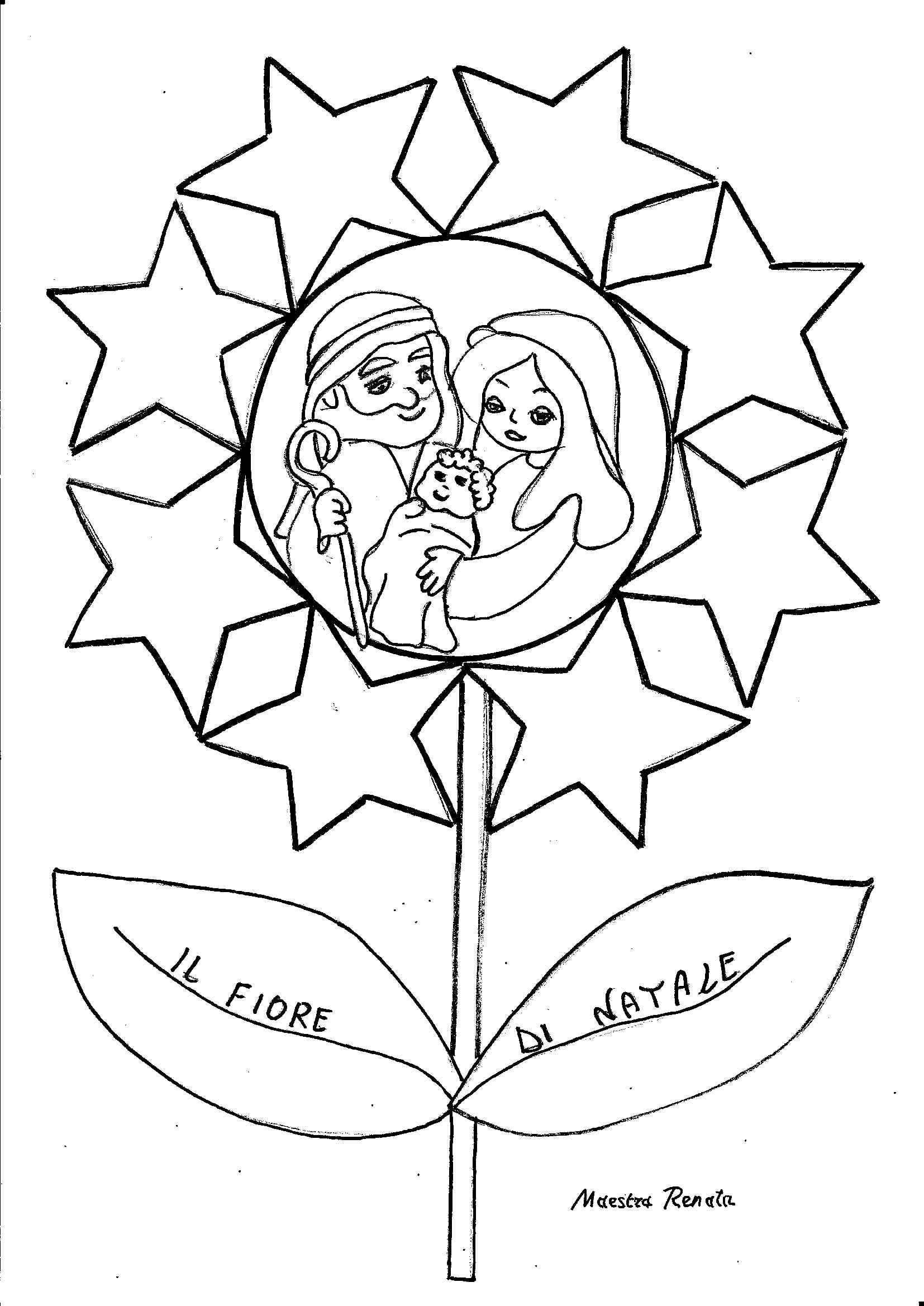 Collegamento religione christmas coloring pages for Maestra sandra pasqua
