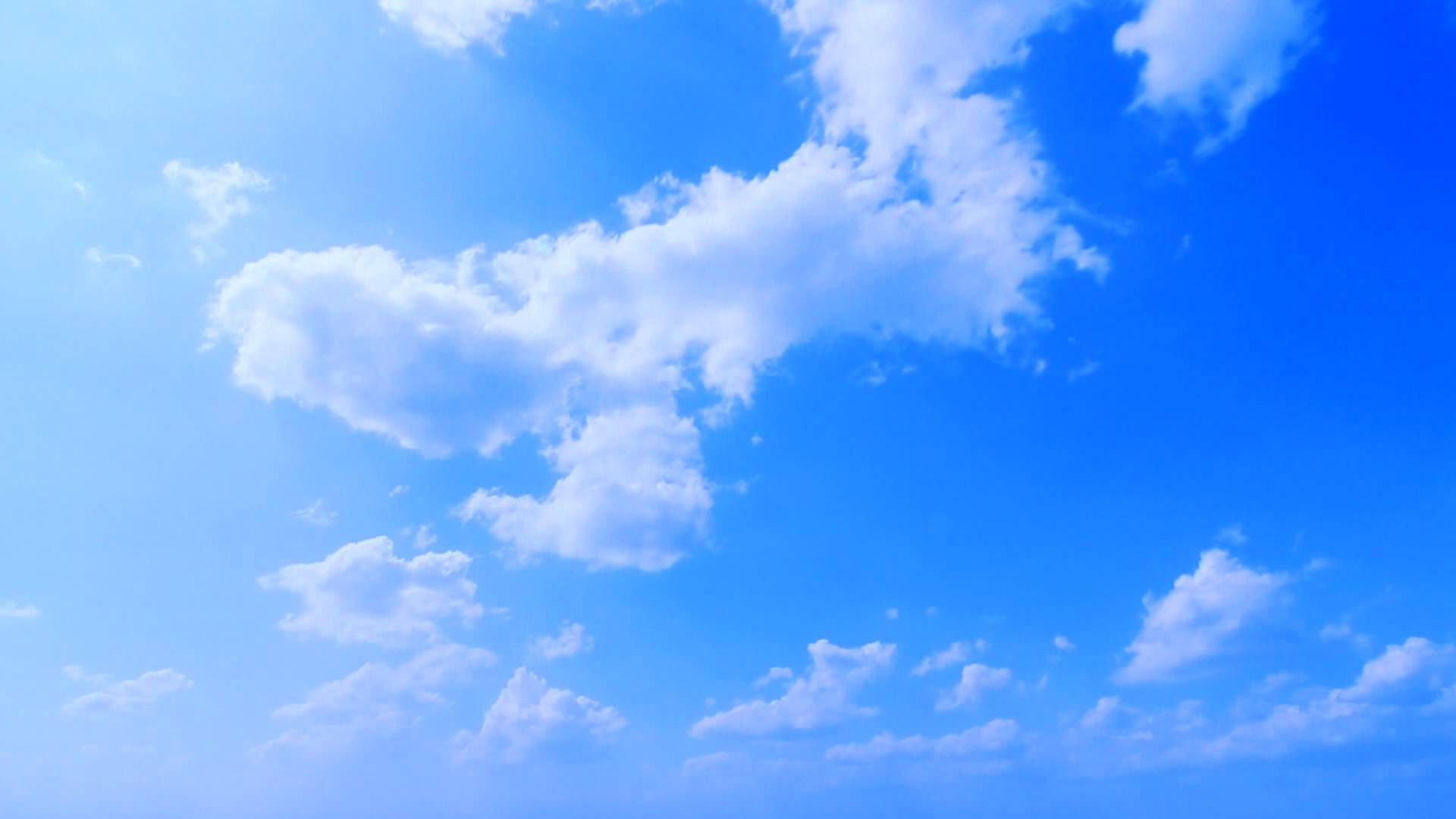 Deep Blue Sky Clouds Timelapse Free Footage Full Hd 1080p