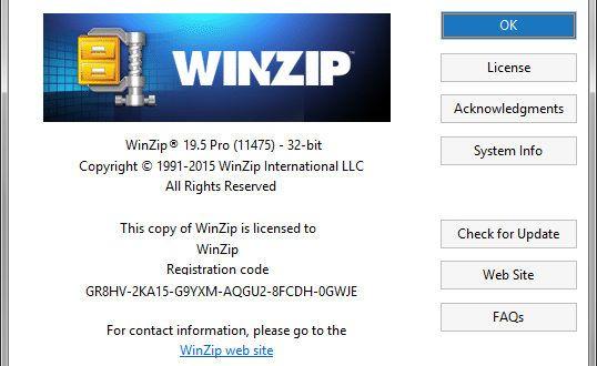 winzip registration code free download