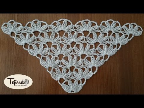 Chal crochet facil - YouTube | chals en crochet | Pinterest ...
