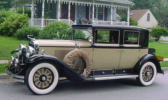 1929 Cadillac 341-B Town Sedan beige | Clic Cadillac/LaSalles ...
