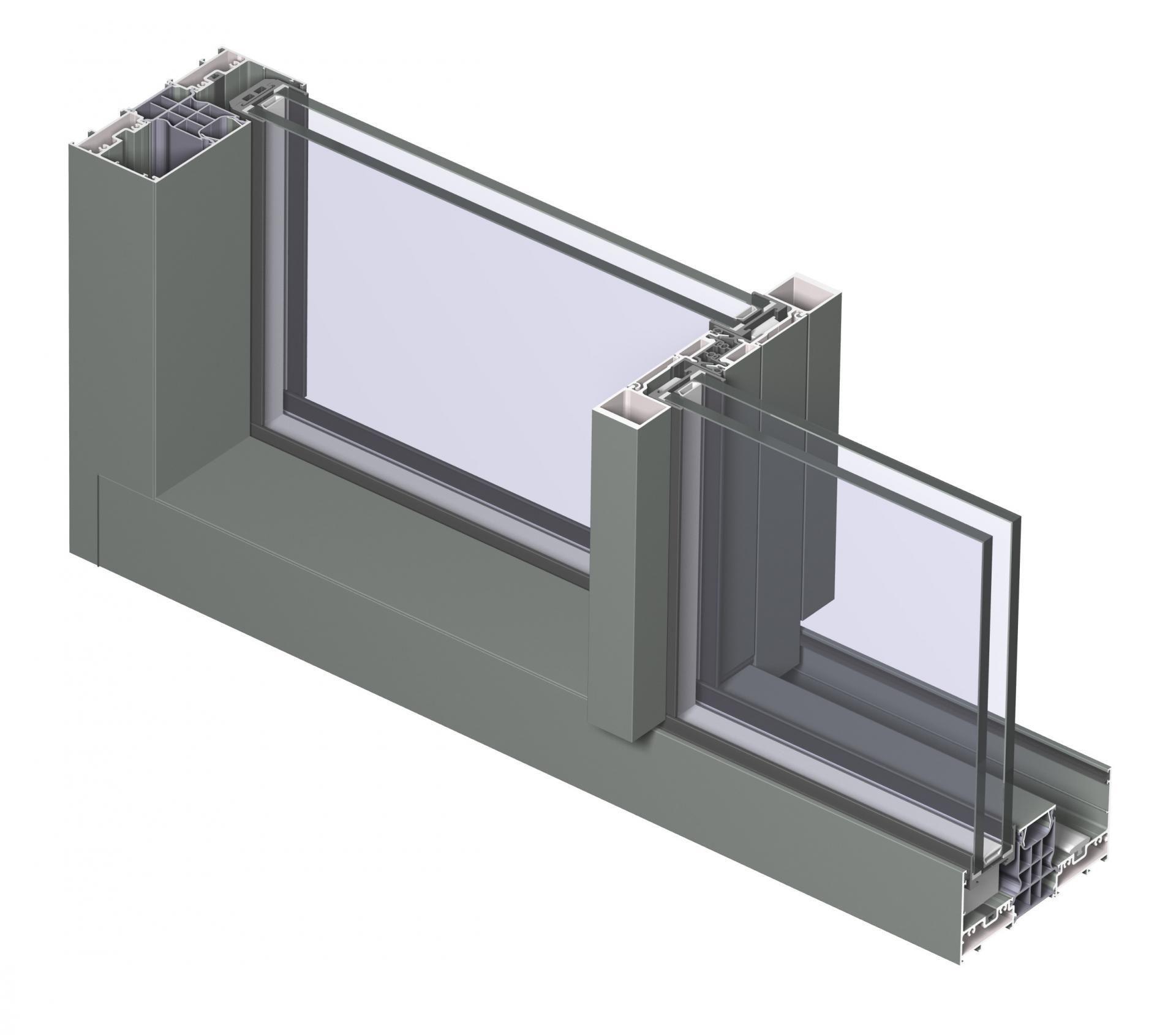 Story by Reynaers Aluminium | Conceptual | Sliding doors, Doors, Slim