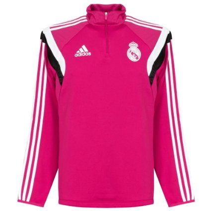 competitive price fd932 106bc 2014-2015 Real Madrid Adidas Training Top (Pink) | Clothes ...