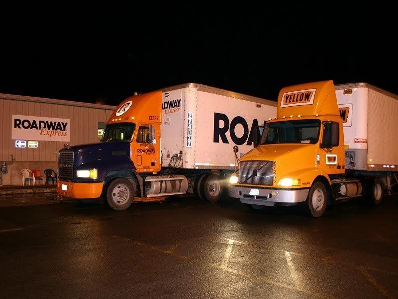 The Nevada Ltl Project Roadway Express Photo Galleries Trucks Truck Transport Big Trucks