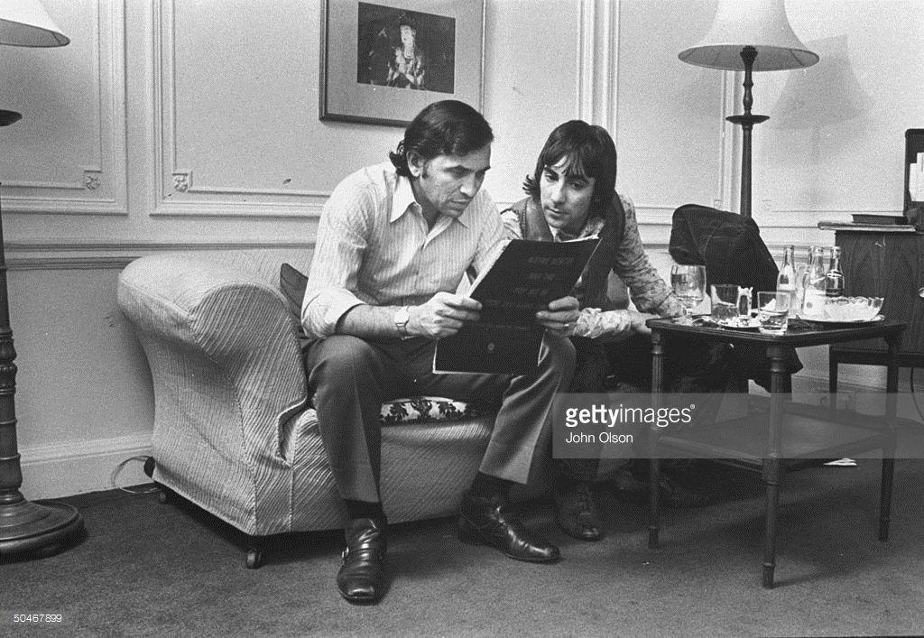 Keith Moon and Bill Graham in 2020 Keith moon, Bill