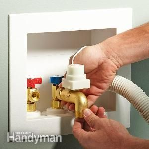 Clothes Washer Keep Your Washing Machine From Flooding The Laundry Room Laundry Room Home Safety Diy Home Improvement