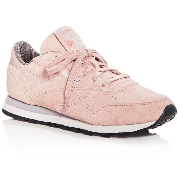 Pink suede shoes, Suede lace